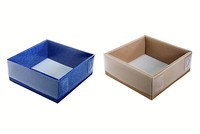 220х220х090 Коробка с прозрачной крышкой_Тмп