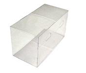 220х100х125 Коробка прозрачная со вставкой для 2-х шаров диаметром 100 мм_Чп
