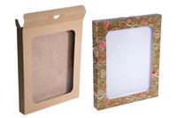 230х030х280 : Коробка из микрогофрокартона с окном_Пмо