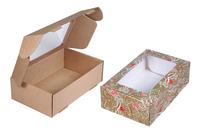 230х140х065 Чмп : Коробка из микрогофрокартона с окном