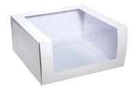 235х235х110 Коробка-чемоданчик с окном и склейкой_Чкп