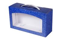 237х080х130 Коробка с пластиковой ручкой и окном_ПРмо