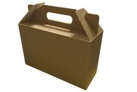 240х092х150 Коробка с декоративной ручкой, на дне вставка _ЧРк