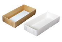 240х110х045 Коробка с прозрачной крышкой снаружи_Ткп