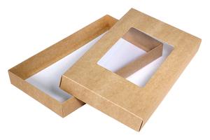 Коробки с окном ; x 240 x 140 мм