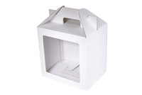 240х180х240 Коробка из микрогофрокартона с окном_ПРмо