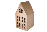 240х240х255(450) Коробка с фигурным окном без пластика_Пмо