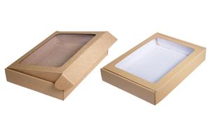 Коробки с окном ; x 245 x 180 мм