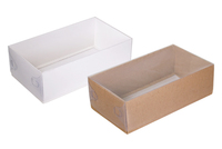 250х140х080 Коробка для подарков с прозрачной крышкой_Ткп