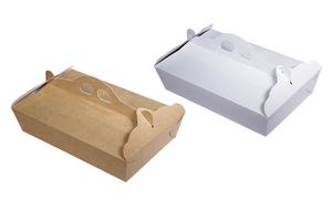 Коробки кондитерские и для фаст фуда ;50;25; x 250 x 155 мм