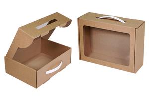 Коробки с окном ;43;20;30;31;5;34; x 250 x 185 мм