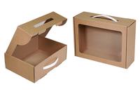 250х185х085 Упаковка, коробка подарочная_Чмп с ручкой