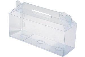 Пластиковая упаковка для новогодних подарков