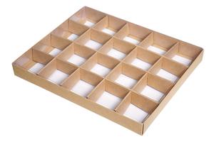 Коробки с разделителем ; x 255 x 210 мм