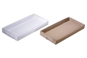 Коробки с прозрачной крышкой ; x 270 x 130 мм