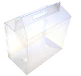 280х150х220 Коробка прозрачная со встроенной ручкой_ПРп