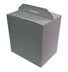 280х195х340 Коробка со встроенной ручкой_ПРм