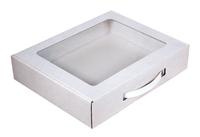 290х235х060 Коробка с прямоугольным окном_Чмп