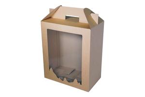 Коробки с окном ; x 300 x 175 мм