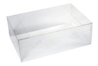 300х200х100  Коробка прозрачная со вставкой для 6 шаров Д=100_ЧпЛп