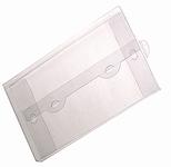 300х210х015 Прозрачный конверт с еврослотом