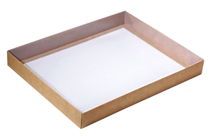 Коробки с прозрачной крышкой ; x 297 x 232 мм
