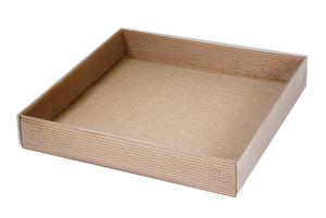 Коробки с прозрачной крышкой ;55; x 300 x 300 мм