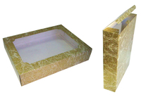 300x080x400 Коробка из микрогофрокартона с прозрачным окном_Пмо