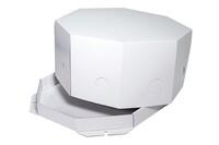 Коробка для торта купить 280х280х200 8Тмк