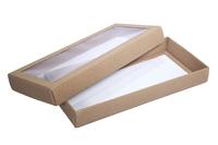 330х150х040 Коробка, на крышке прозрачное окно_Ткко