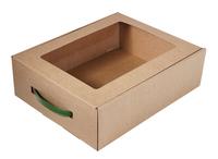 330х260х100 Коробка от ручкой да окном_Чмп