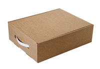 330х260х100 Чм, картонная коробка для подарков
