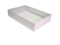 340х240х70 (40) Коробка с двойными бортиками , прозрачная крышка _Тмп