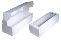 350х120х095 Коробка из микрогофрокартона с окном_Чмп
