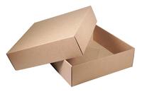 350х350х110 Коробка дно и крышка микрогофрокартон_Тмм эко