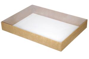 Коробки с прозрачной крышкой ;9;4;5; x 360 x 260 мм