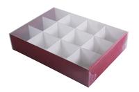 360х260х070 Коробка с решеткой 12 ячеек_ТмпЛ эко