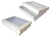 360х260х070(050) Коробка с прямоуг. окном_Тмко эко
