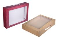 360х260х070 Чмп, упаковка для подарков с ручкой и окном