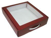 365х320х080 Чмп, подарочные коробки  со ручкой