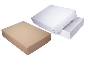 Коробки картонные ; x 370 x 270 мм