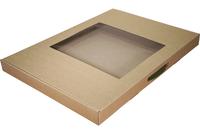 610х430х045 Коробка-чемоданчик с окном и ручкой_Чмп