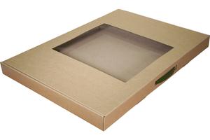 Коробки с окном ;15; x 610 x 430 мм