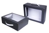 Черная подарочная коробка – от 100 Чмп 250x185x085 мм МОС