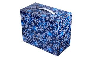 Картонная коробка подарочная