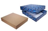 Подарочная коробка с крышкой – Тмм 390x320x075 мм