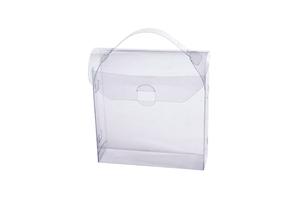 Прозрачная подарочная коробка