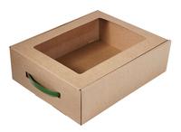 Упаковочная коробка для подарков – от 100 ЧРмп 330x260x100 мм МОС