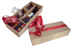 Ложемент для упаковочной коробки, примеры, фото