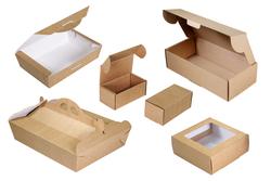 Коробка картонная чемодан